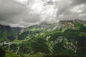 View at  the mountains in Spain photo