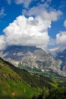 Mountain in the Clouds, Switzerland photo