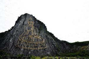 Buddha Mountain called Khao Cheejan