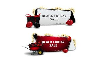 Black Friday Sale, set of discounts coupons
