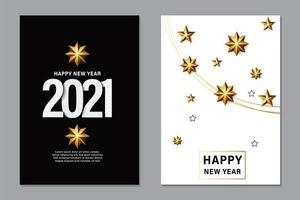 2021 New Year background for holiday greeting card