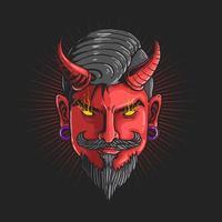 Devil head graphic