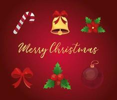 Christmas detailed icon set