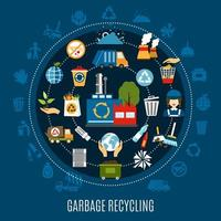 Garbage Removal Round Composition vector