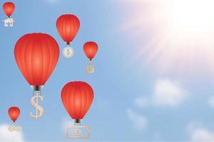 Saving power and saving money concept