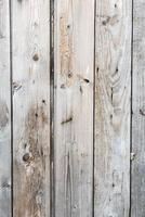 Worn white wooden surface