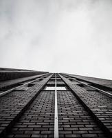 Grayscale of a building