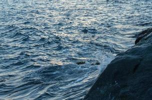 olas oceánicas azules