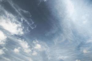 Dramatic cloud shape