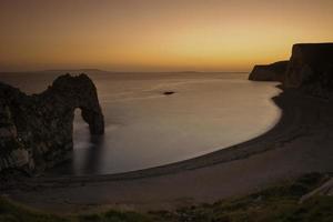 Durdle door dramatic Jurrasic coastline photo