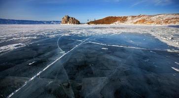 The ice photo