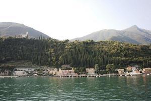 Italy, Lake Garda - village