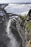 Waterfall in the Nervion river source, North of Spain photo
