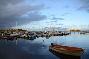 Suecia isla archipiélago de Gotemburgo foto