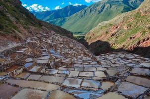Salinas de Maras, Sacred Valley, Peru photo
