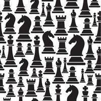 patrones sin fisuras con figuras de ajedrez vector