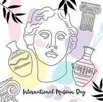 International Museum Day background