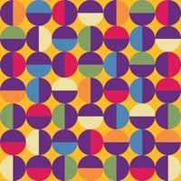 patrón geométrico absctract inconsútil vector