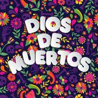 Dios de Muertos background