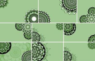 Beautiful mandala design background vector