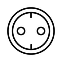 Power socket icon