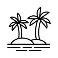 Palm Trees Icon