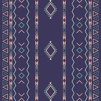 Aztec ethnic tribalseamless pattern with geometric shapes