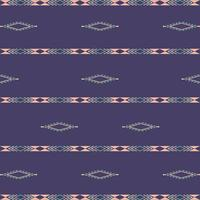 Aztec ethnic tribal seamless pattern with geometric shapes