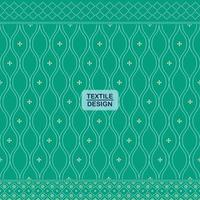 Green seamless traditional textile bandhani sari border pattern