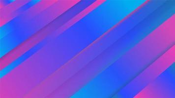 Blue purple gradient angles design vector