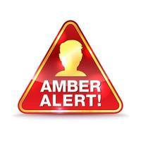 Amber Alert Warning Icon