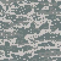 patrón de camuflaje del desierto digital militar estadounidense vector