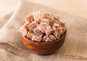 Bowl of dried plums