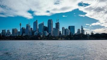 horizonte en sydney, australia foto