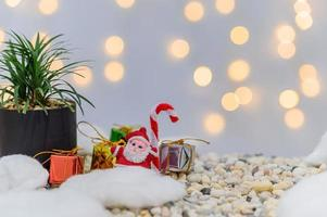 Christmas background for the advent photo