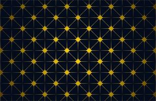 Gold Color Islamic Star Pattern vector