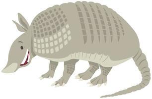 dibujos animados de animales armadillo vector