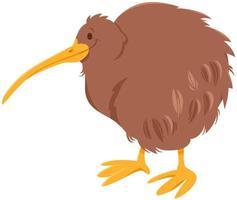 personaje de animal de dibujos animados de pájaro kiwi