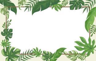 Floral Background Frame vector