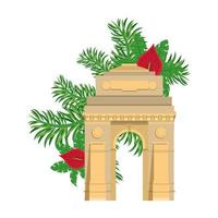 ndian touristic site vector
