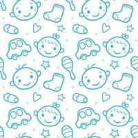 patrón de conjunto de bebé