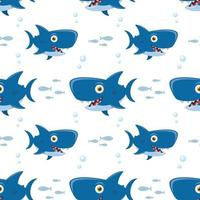 Pattern with shark