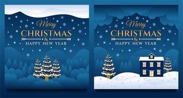 feliz navidad y próspero año nuevo banner