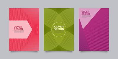 Modern abstract covers vector