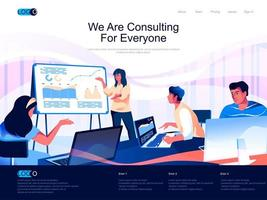 We are Consulting for everyone landing page
