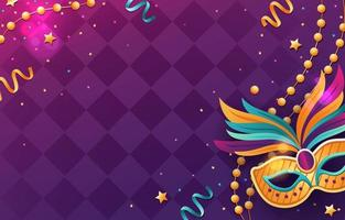 Mardi Gras Theme Background