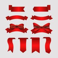 Set of Ribbons Labels