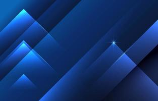 Abstract Overlapping Blue Background vector