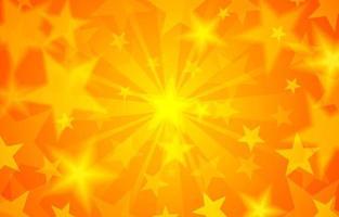Starsburst Yellow Background vector