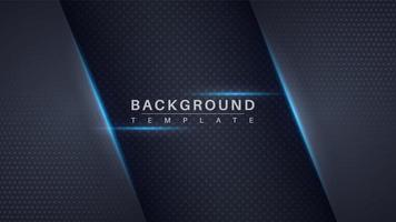 Futuristic glowing dark dotted paper background vector
